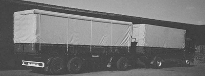 SCHERM Group | 1978 | Launch of the first 40 tons truck