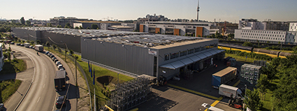 SCHERM Group | 2007 | The first logistics site for BMW Group starts working