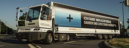 SCHERM Group| 2015 | Launch of the first full-electric truck