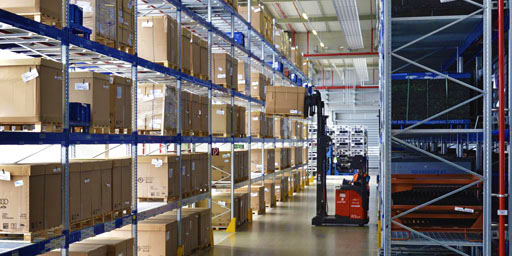 SCHERM Group - Logistics | Goods warehousing