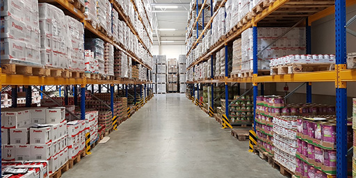 SCHERM Group - foodstuff logistics | Order picking