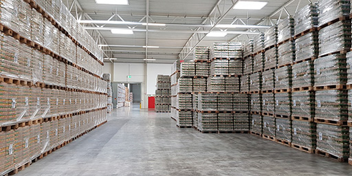SCHERM Group - foodstuff logistics | Warehousing