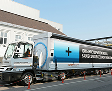The BMW Group and SCHERM Group officially put an electric truck into service