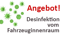 STS Angebot Desinfektion